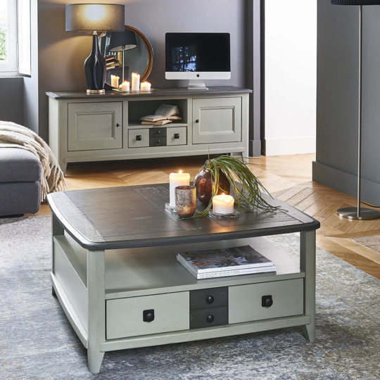 Table Basse Campagne Chic Laque P1 Seraphine